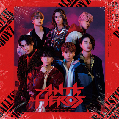 ANTI-HERO'S Instrumental/BALLISTIK BOYZ from EXILE TRIBE