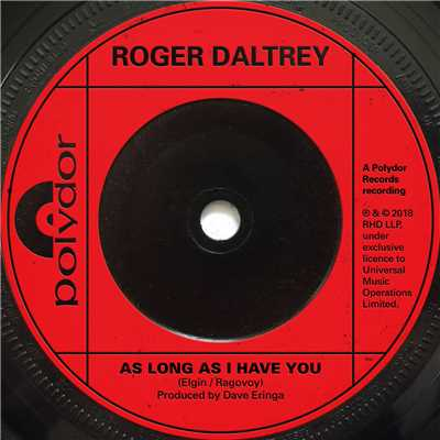 シングル/As Long As I Have You/Roger Daltrey