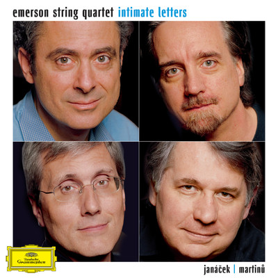 "アルバム/""Intimate Letters"" Janacek/Martinu: String Quartets/Emerson String Quartet"