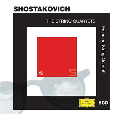 アルバム/Shostakovich: The String Quartets/Emerson String Quartet