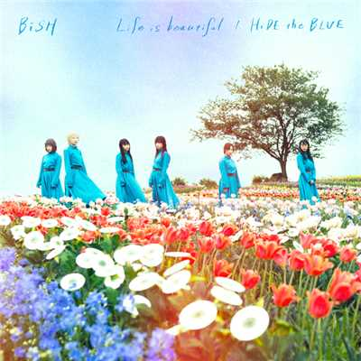ハイレゾアルバム/Life is beautiful / HiDE the BLUE/BiSH