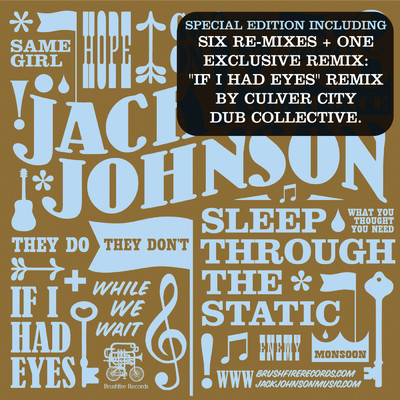 アルバム/Sleep Through The Static: Remixed (Int'l 6Trk Digital EP)/Jack Johnson