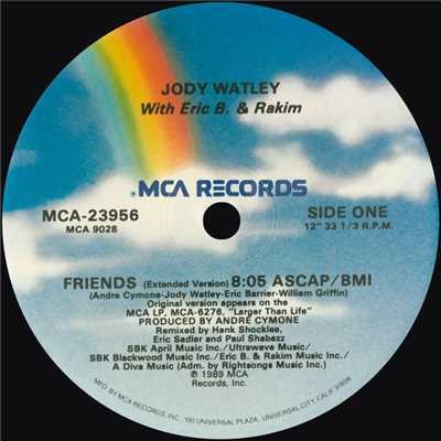 アルバム/Friends (Remixes)/Jody Watley