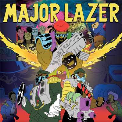シングル/Bubble Butt (feat. Bruno Mars, Tyga & Mystic)/Major Lazer
