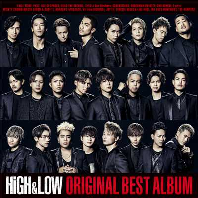 ハイレゾアルバム/HiGH & LOW ORIGINAL BEST ALBUM/Various Artists
