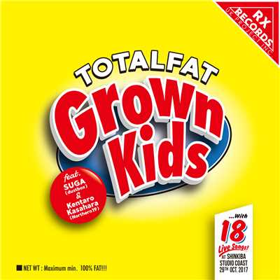 アルバム/Grown Kids feat. SUGA(dustbox), 笠原健太郎(Northern19)/TOTALFAT