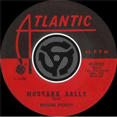 アルバム/Mustang Sally / Three Time Loser [Digital 45]/Wilson Pickett
