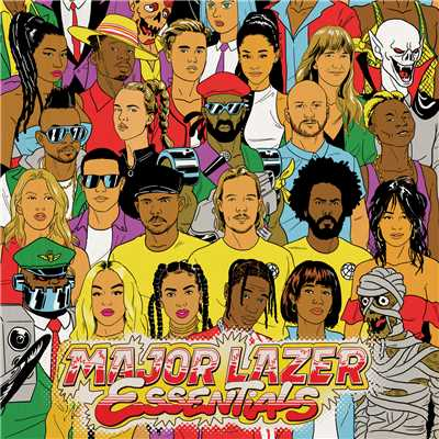 シングル/Tied Up (feat. Mr Eazi, RAYE and Jake Gosling)/Major Lazer
