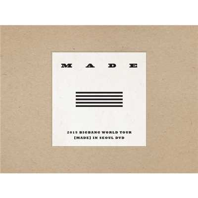 アルバム/2015 BIGBANG WORLD TOUR [MADE] IN SEOUL DVD/BIGBANG