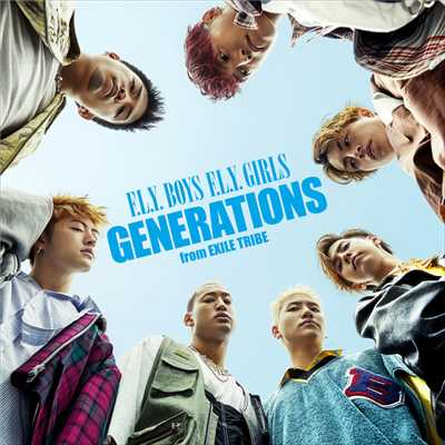 F.L.Y. BOYS F.L.Y. GIRLS(English Ver.)/GENERATIONS from EXILE TRIBE