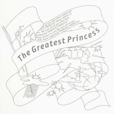 アルバム/The Greatest Princess/PRINCESS PRINCESS