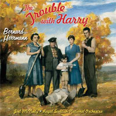 アルバム/The Trouble With Harry (Original Motion Picture Soundtrack)/Bernard Herrmann
