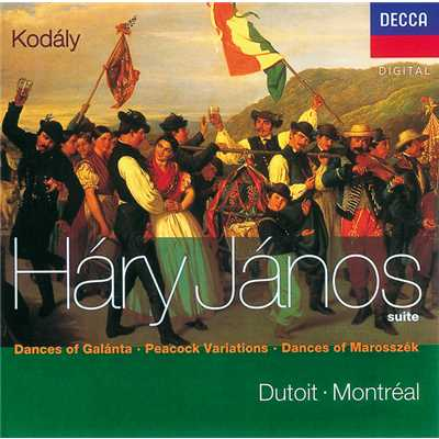 "Kodaly: Variations on a Hungarian Folk Song for Orchestra, ""The Peacock"" - 1. Moderato (Theme)/Orchestre Symphonique de Montreal/Charles Dutoit"