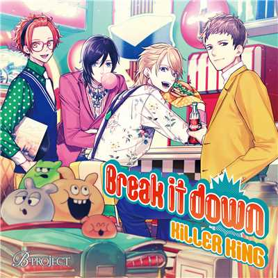 Break it down/KiLLER KiNG(cv.西山宏太朗、八代 拓、千葉翔也、江口拓也)