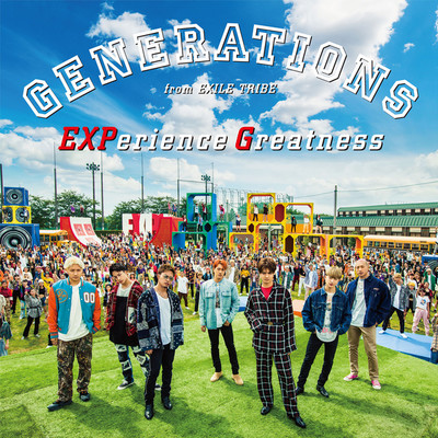 アルバム/EXPerience Greatness/GENERATIONS from EXILE TRIBE