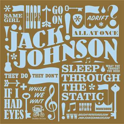 アルバム/Sleep Through The Static/Jack Johnson
