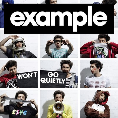 シングル/Won't Go Quietly/Example