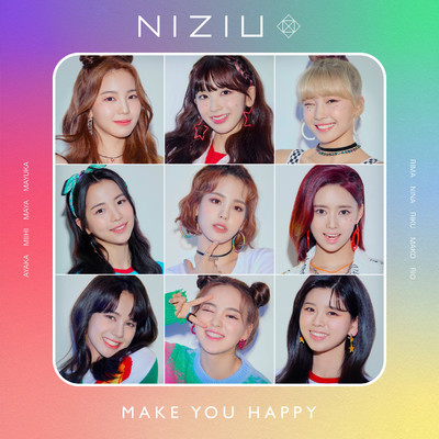 シングル/Make you happy/NiziU