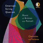 アルバム/Chaconnes and Fantasias: Music of Britten and Purcell/Emerson String Quartet