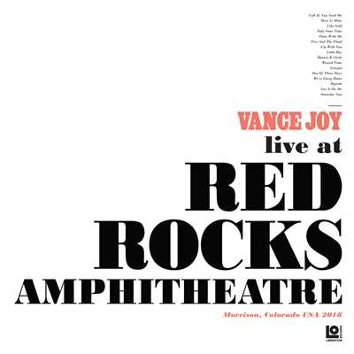 シングル/Mess Is Mine (Live at Red Rocks Amphitheatre)/Vance Joy