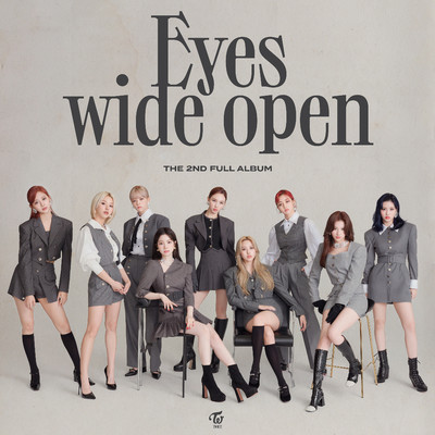 Eyes wide open/TWICE