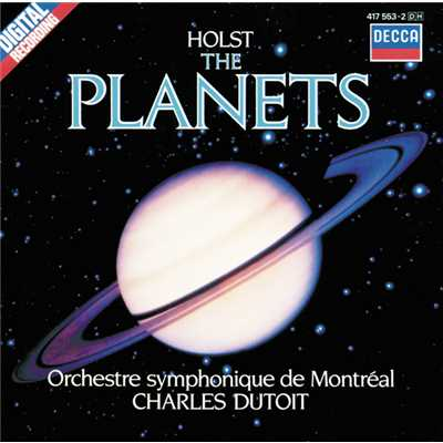 シングル/Holst: The Planets, Op. 32 - 2. Venus, the Bringer of Peace/Orchestre Symphonique de Montreal/Charles Dutoit