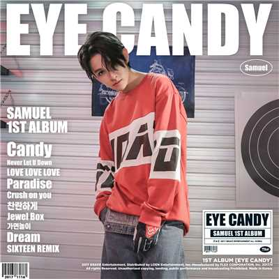 アルバム/EYE CANDY/Samuel