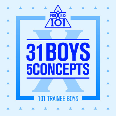 アルバム/PRODUCE X 101 - 31 Boys 5 Concepts/Various Artists