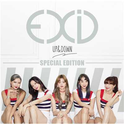 アルバム/UP&DOWN [JAPANESE VERSION] SPECIAL EDITION/EXID