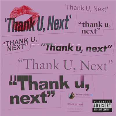 シングル/thank u, next/Ariana Grande