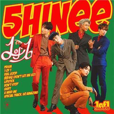 アルバム/1 of 1 (The 5th Album)/SHINee