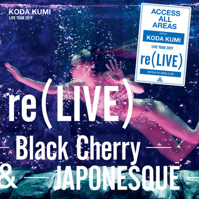 アルバム/re(LIVE) -Black Cherry- (iamSHUM Non-Stop Mix) in Osaka at オリックス劇場 (2019.10.13)/倖田來未