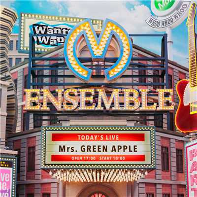 シングル/They are/Mrs. GREEN APPLE