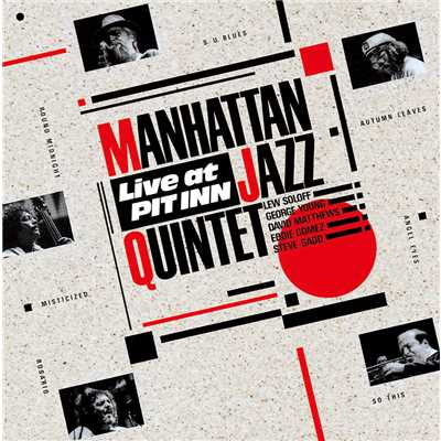 ハイレゾアルバム/LIVE AT PIT INN/Manhattan Jazz Quintet