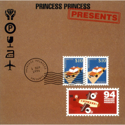 アルバム/PRESENTS/PRINCESS PRINCESS