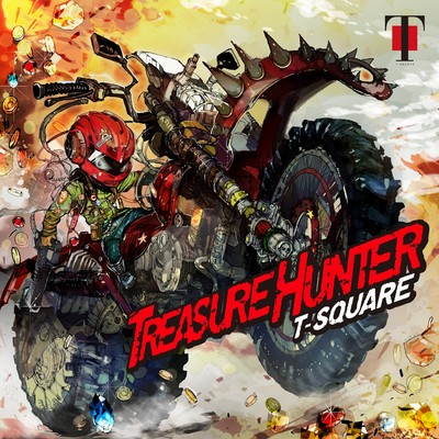 ハイレゾアルバム/TREASURE HUNTER (PCM 96kHz/24bit)/T-SQUARE