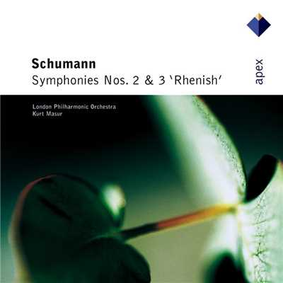 シングル/Schumann : Symphony No.3 in E flat major Op.97, 'Rhenish' : IV Feierlich/Kurt Masur