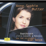 Beethoven: Violin Romance No.2 In F Major, Op.50/Anne-Sophie Mutter/New York Philharmonic Orchestra/Kurt Masur