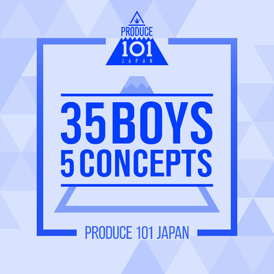 アルバム/PRODUCE 101 JAPAN - 35 Boys 5 Concepts/Various Artists
