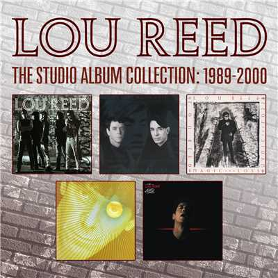 アルバム/The Studio Album Collection:1989-2000/Lou Reed