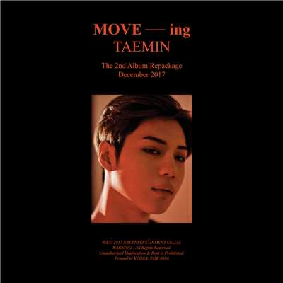 アルバム/MOVE-ing - The 2nd Album Repackage/TAEMIN