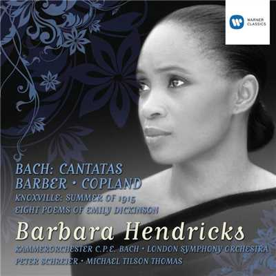 アルバム/Bach Cantatas and Barber/Copland/Barbara Hendricks