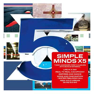 アルバム/X5/Simple Minds