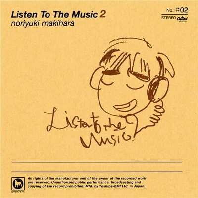 Listen To The Music 2/槇原敬之