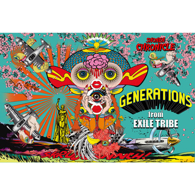 シングル/MAD CYCLONE/GENERATIONS from EXILE TRIBE