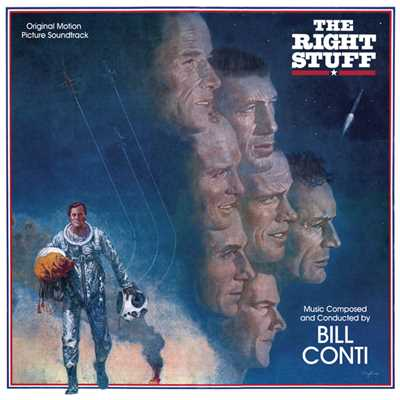 シングル/The Right Stuff (Single) (Single Version)/Bill Conti