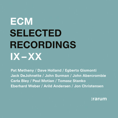 アルバム/Selected Recordings IX - XX/Various Artists