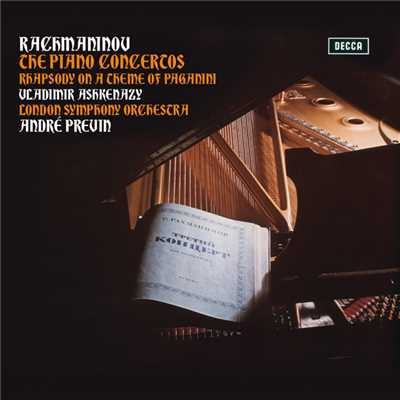 ハイレゾアルバム/Rachmaninov: The Piano Concertos; Rhapsody On A Theme Of Paganini/Vladimir Ashkenazy/London Symphony Orchestra/Andre Previn
