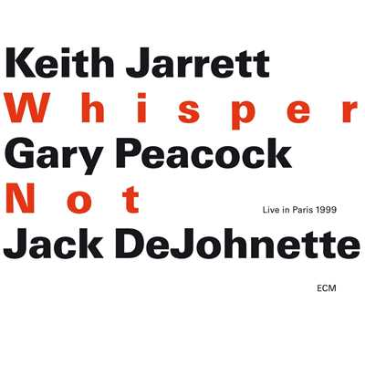 アルバム/Whisper Not/Keith Jarrett Trio