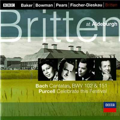 Sir Peter Pears/English Chamber Orchestra/Benjamin Britten